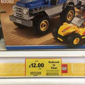 Lego Dune Buggy Trailer 60082 - Reduced to £12 from £18 - Tesco Abingdon, but seen in other Tescos also