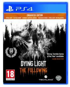 Dying Light: The Following Enhanced Edition PS4/X1 £34.99 at Zavvi