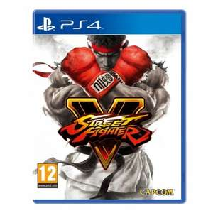 Street Fighter V PS4 Game (with Exclusive 3D Cover) £35.99  @ 365games Using Code WILT for 10% off