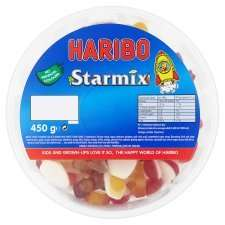 Haribo Starmix 450g Drum £1.50 online /instore @ Tesco Groceries (also Tangfastic 450g same price)