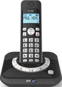 BT Cordless Telephone with Answer Machine - Single £22.99 @ Argos (eBay)