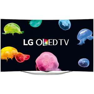 """LG 55EC930V Curved OLED Full HD 3D Smart TV, 55"""" with Freeview HD, 2x 3D Glasses and 2x 3D Clip-on Glasses £1299.00 @ John Lewis"""