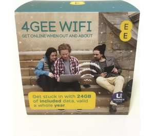 EE Osprey 2 Mini Pay As You Go Mobile WiFi +24GB 12M £79.99 @ currys