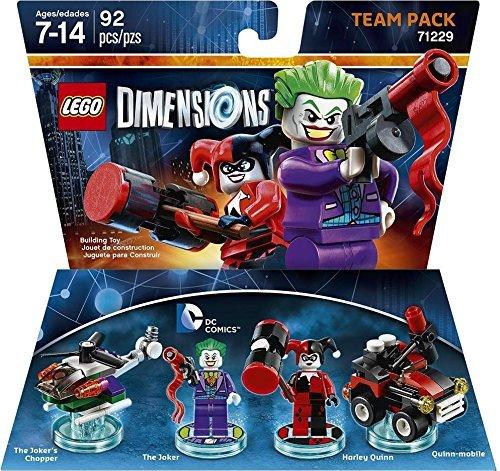 Lego Dimensions Joker & Harley Team pack £15.05 @ Amazon.com