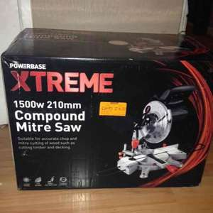 Power base extreme mitre saw £16.00 at Battersea Homebase