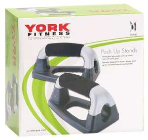 York Fitness Push Up Stands only £2.50 (Add-on Item) at Amazon
