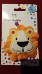 Le JouJou wrist rattle 99p at Home Bargains