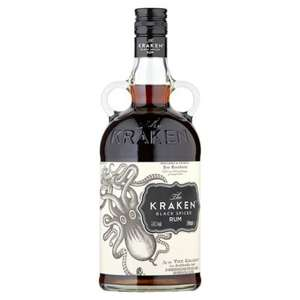 kraken rum £19 70cl bottle at morrisons