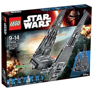 Lego Star Wars: Kylo Ren's Command Shuttle £79.97 on Amazon