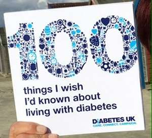 Free Book on 100 things I wish I'd known about living with diabetes' @ Diabetes.org.uk