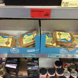 pack of 8 pre made pancakes for only 9p in Aldi