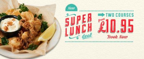Jamie's Italian super lunch deal £10.95