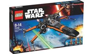 Lego Star Wars Poe's x wing fighter - 75102 £55.97 @ Asda