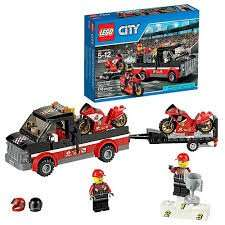 LEGO City Great Vehicles Racing Bike Transporter £13.49 Prime / £17.48 Non Prime @ Amazon
