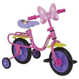 "Disney Mickey Mouse  / Minnie Mouse 10"" Bike with Stabilisers now £18.75 + £2 C&C at Tesco Direct"