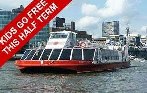 Kids Go FREE This Half Term on Red Rover River Thames Cruises @ Discount London