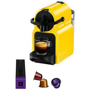 Nespresso Inissia Limited Edition by Magimix, Canary Yellow @ John Lewis £59.99