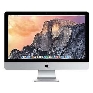 "APPLE iMac Desktop PC 27"" MF885B/A 1TB Hard Drive Intel Core i5 Silver £1049.91 Sold by Currys on eBay"