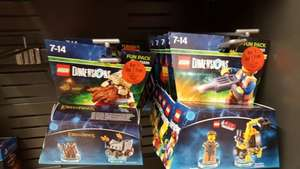 Lego Dimensions Fun Packs BOGOF £12.99 instore @ Sainsburys