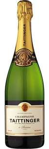 Taittinger Brut Réserve NV Champagne £26.99 if you buy SIX £161.94 @ majesticwine