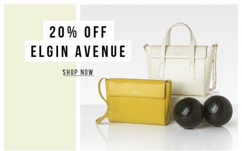 20% off Elgin Avenue Bags @ Radley