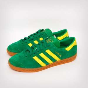 Adidas Hamburg green/yellow uk7,8,9 £32 @ aspecto using code SALE20
