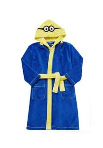 Universal Studios Minions Fleece Dressing Gown was £14-£16 now £7-£8 C+C @ F&F