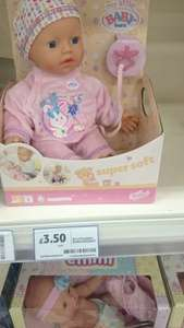 my little baby born super soft doll £3.50 @ Tesco extra Corby