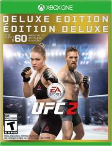 EA Sports UFC 2 Xbox One £34.83 (Columbian Store)