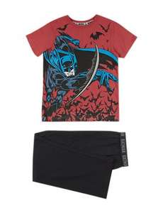 Batman™ Stay Soft Pyjamas (18mths - 6yrs) £4.00 @ M&S (FREE Click & Collect)