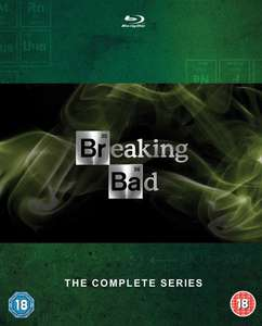 Breaking Bad: The Complete Series [Blu-ray] with UV £29.83 @ Zoom (using code)