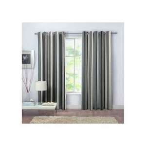 Rossini Stripe Unlined Curtains - 117 x 137cm - Grey. £3.99 @ argos