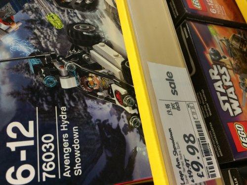 Lego Avengers Hydra Showdown (76030) £9.98 @ Asda instore