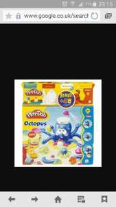 Play-doh octopus with 4 play-doh tubs £3.50 @ Tesco