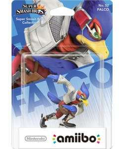 Falco amiibo (nintendo wii u/3ds) - Argos now £4.99