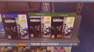 Rainbow Six: Siege PS4/XBox One £24.99 @ Smyths