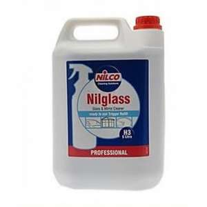 Nilco Professional Nilglass Glass Cleaner 5L £5 @  B&Q