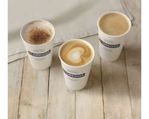 Free Hot Drink with Greggs Rewards