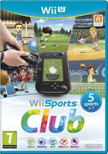 Wii Sports Club for Nintendo Wii U £15.39 @ Zavvi Outlet Ebay