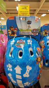 Paw Patrol Protective Bike Helmet. Reduced from £15 to £3.75 @ Tesco Instore