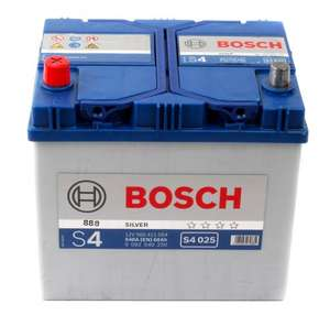 Bosch battery S4  (Type 054) 4 year guarantee £39.46 @ carparts4less.co.uk
