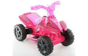 Roadsterz 6V Electric Ride On Quad - Pink (Was £70) now £20 at Halfords