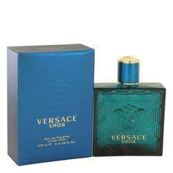Versace Eros  Eau De Toilette 200ml Spray + Free Versace Eros Miniature Set + Dolce & Gabbana-Gift With Purchase-Body Cream just for £42.50 at The Fragrance Shop