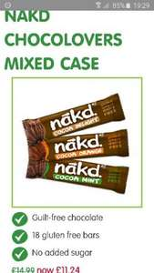 25% off nakd chocolovers case £11.24 @ NBF