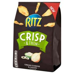 RITZ CRISP & THIN 95p @ Tesco