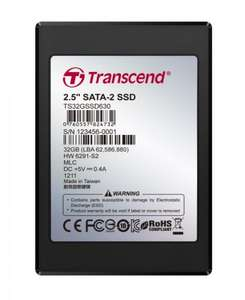 "OPEN BOX Transcend SSD630 32GB 2.5"" SATA II Solid State Drive - BRAND NEW  £13.72 @ Misco"