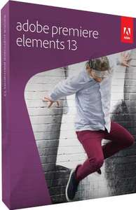 Adobe Premiere Elements 13 (PC/Mac) , £21 click and collect from tesco