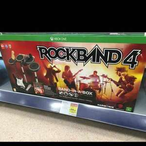 Rockband PS4 and Xbox One - £99.97, reduced to clear Currys PC World