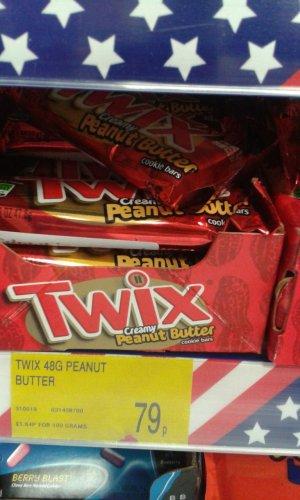 Peanut butter Twix 79p @ B&M