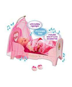 baby born princess bed £15.99 at Argos